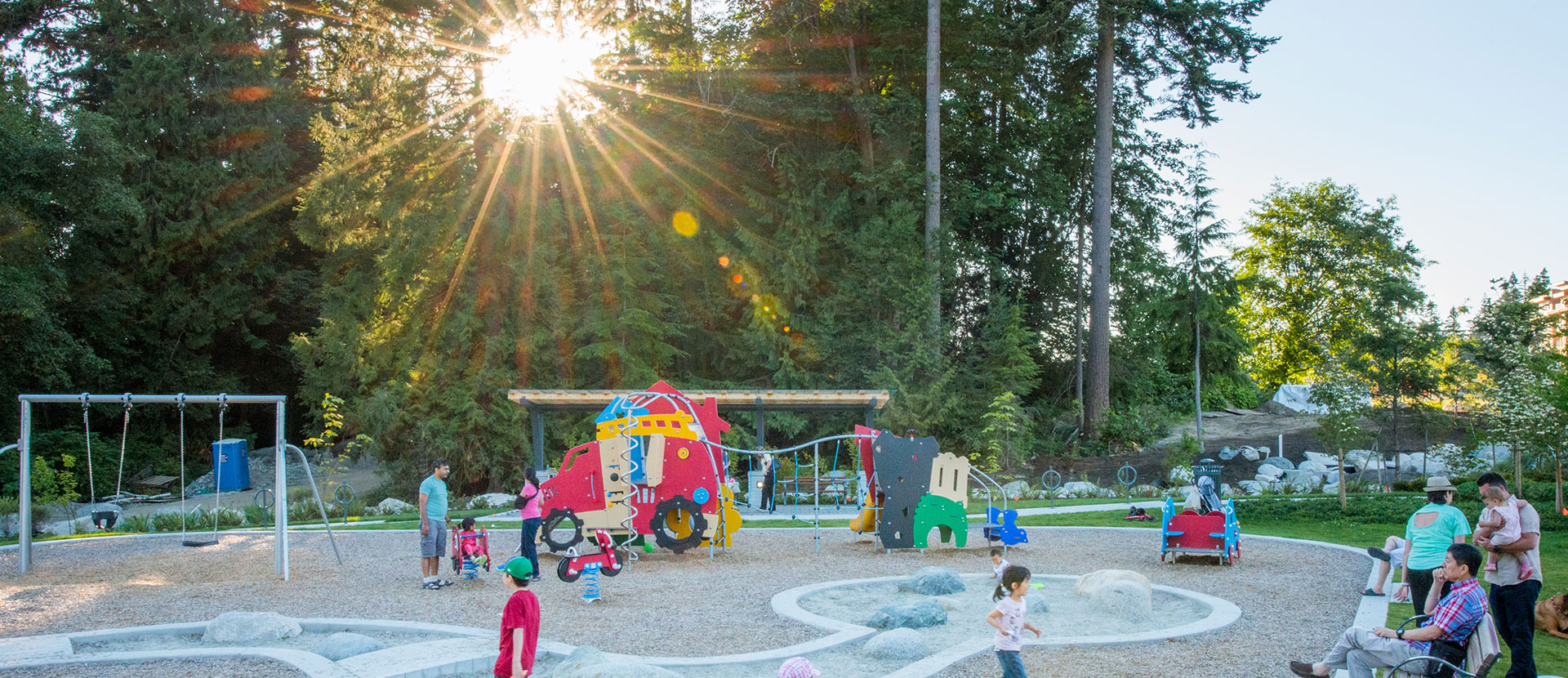 Kids Have Close Access to Amazing Play areas in Vancouver's UBC Wesbrook Village