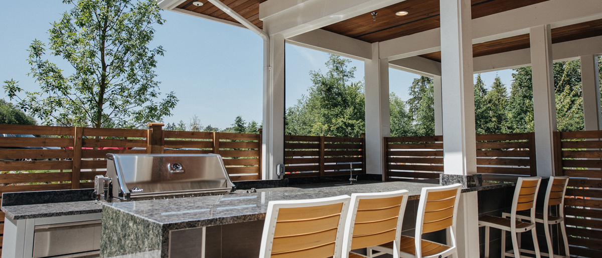 Enjoy this outdoor kitchen at South Ridge Club