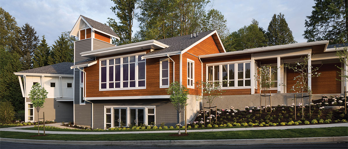 A Well Crafted South Surrey Townhomes Clubhouse