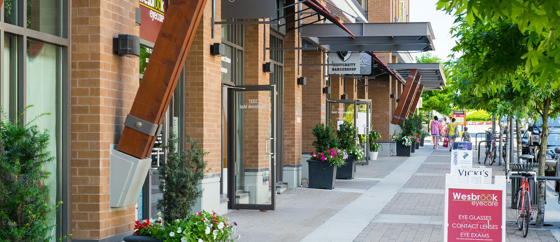 Living in Vancouver UBC's Wesbrook Village is Close to Many Businesses