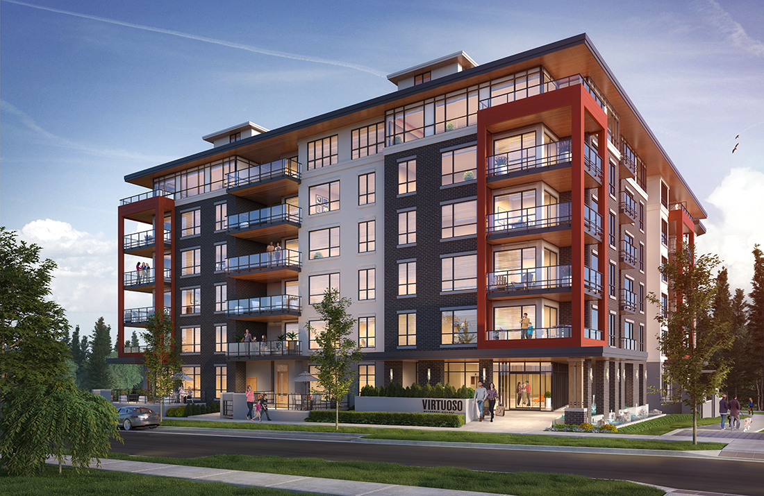 Modern Vancouver Townhomes at Virtuoso by Adera